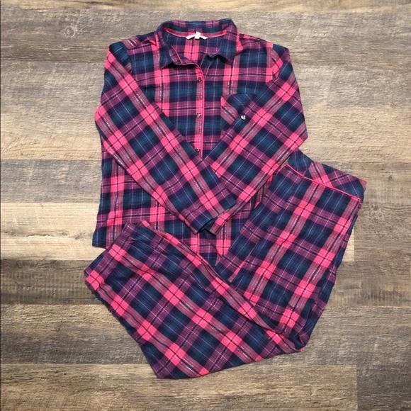 9a01542e830d0 Victoria's Secret flannel pj's